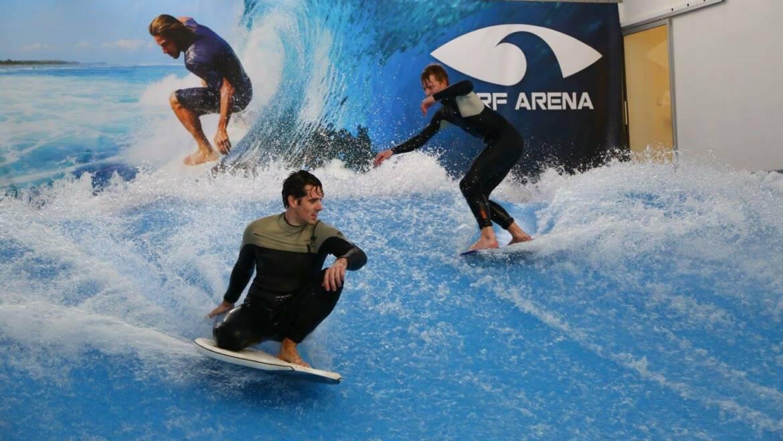 Rozlučka se svobodou v Surf Areně?