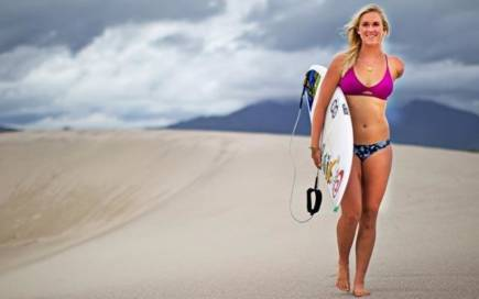Top personalities from the world surfing