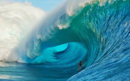 The biggest waves on earth