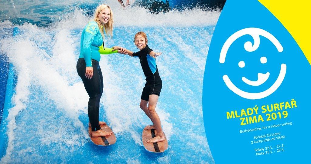 Dětský klub Mladý surfař: zima 2019