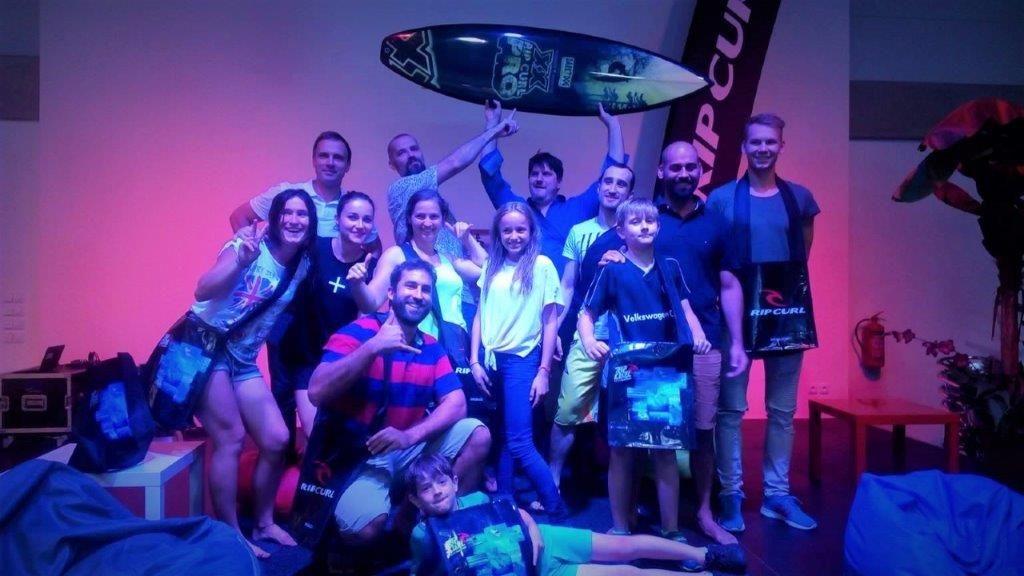 1st ever competition in indoor surfing in CZ