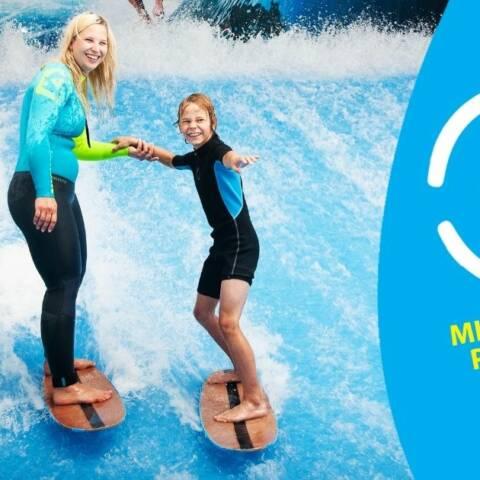 Mladý surfař podzim 2021