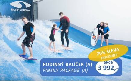 Special offer – Family package