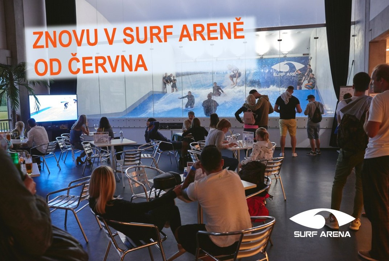 Surf Arena znovu otevřena